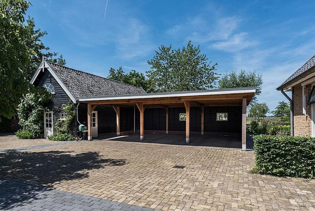 Nieuwe aanbouw en carport Benedenkerkseweg Stolwijk | BeekBouw