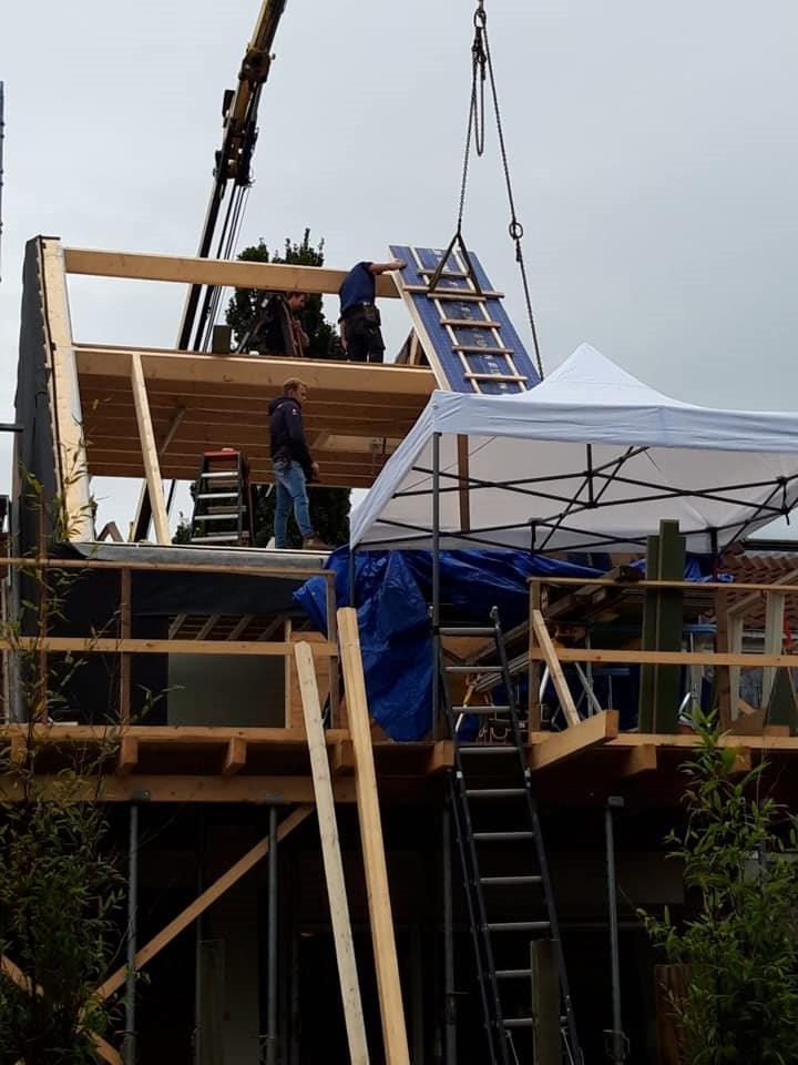 Dakrenovatie / dakopbouw met isolatie in Haastrecht | BeekBouw