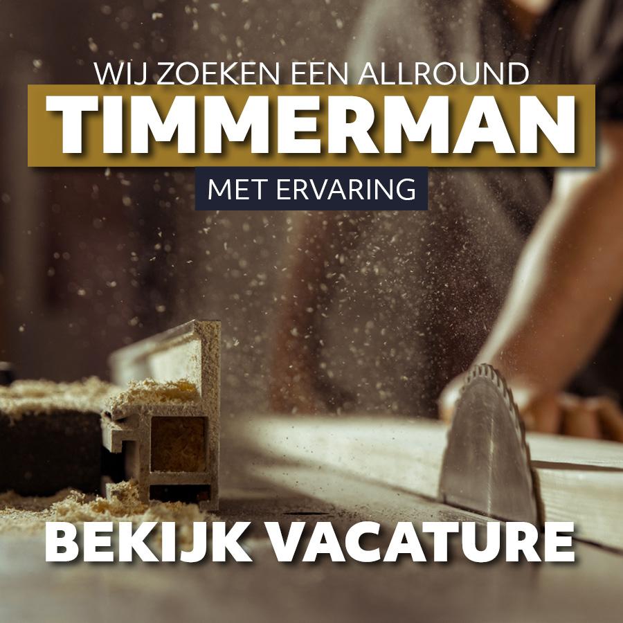 Vacature Allround Timmerman   BeekBouw
